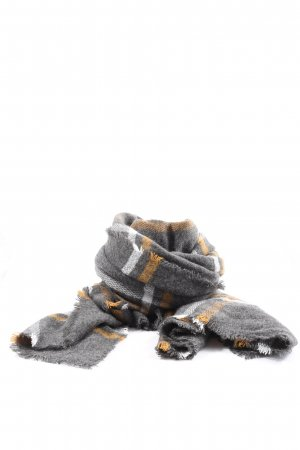 H&M Knitted Scarf light grey-light orange allover print casual look