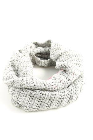 H&M Écharpe en tricot gris clair style décontracté