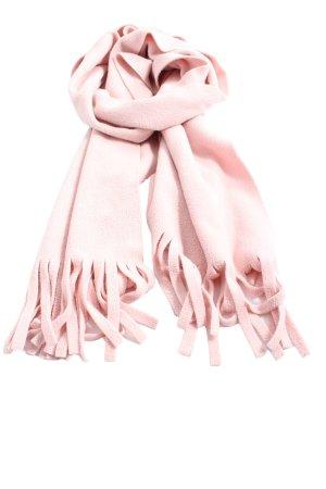 H&M Écharpe en tricot rose style décontracté