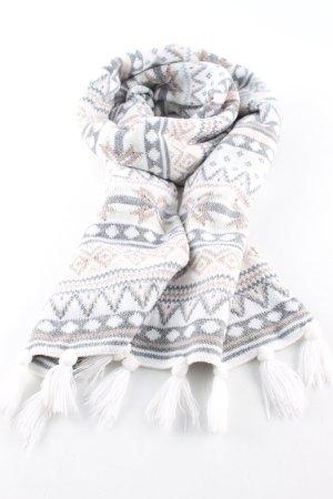 H&M Strickschal Allover-Druck Casual-Look