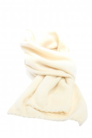 H&M Knitted Scarf cream casual look
