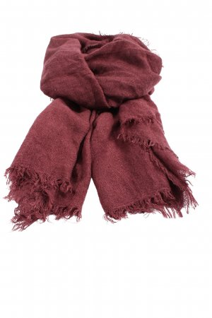 H&M Knitted Scarf red casual look
