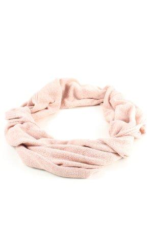 H&M Bufanda de punto rosa look casual