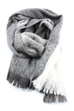 H&M Bufanda de punto gris claro look casual