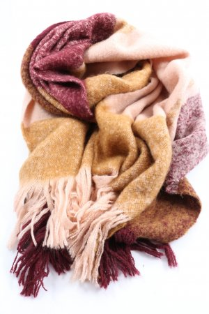 H&M Knitted Scarf nude-pink flecked casual look