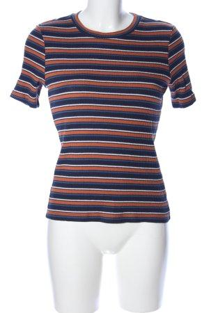 H&M Camicia maglia motivo a righe stile casual