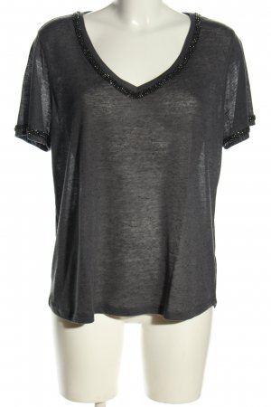 H&M Strickshirt hellgrau Casual-Look