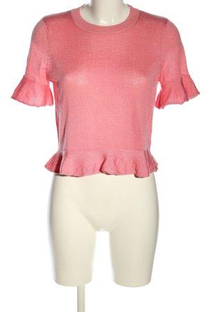 H&M Strickshirt pink meliert Casual-Look