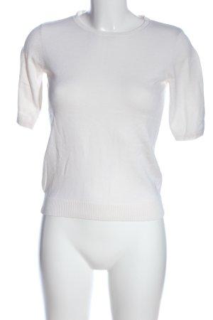 H&M Gebreid shirt wit casual uitstraling