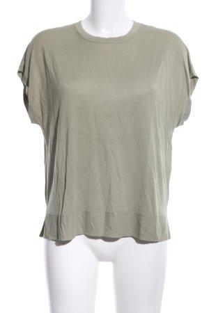 H&M Strickshirt khaki Casual-Look