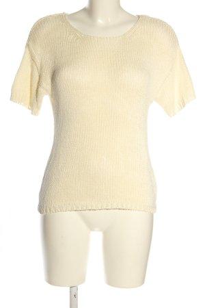 H&M Camicia maglia crema stile casual