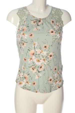 H&M Gebreid shirt volledige print casual uitstraling