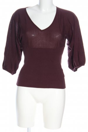 H&M Strickshirt rot Street-Fashion-Look
