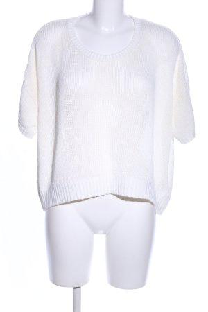 H&M Camicia maglia bianco stile casual