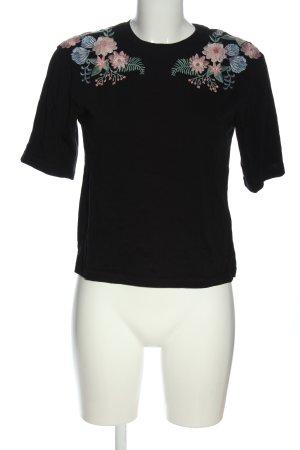 H&M Gebreid shirt veelkleurig casual uitstraling