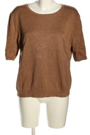 H&M Strickshirt braun Casual-Look