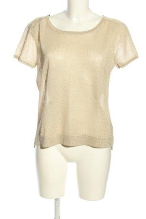 H&M Strickshirt creme meliert Casual-Look