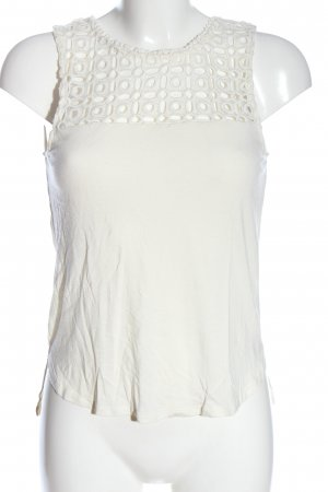 H&M Knitted Top white casual look