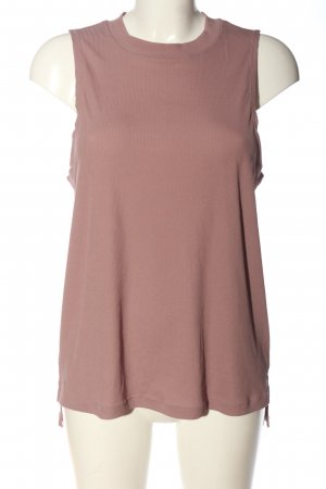 H&M Knitted Top pink casual look
