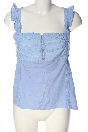 H&M Gebreide top blauw casual uitstraling
