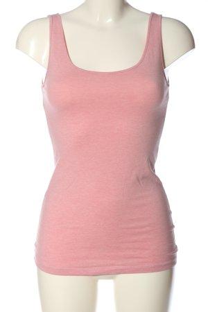 H&M Stricktop pink meliert Casual-Look
