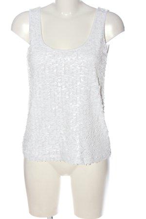 H&M Gebreide top wit casual uitstraling