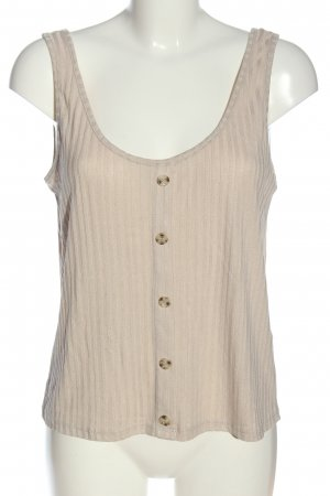 H&M Knitted Top natural white cable stitch casual look