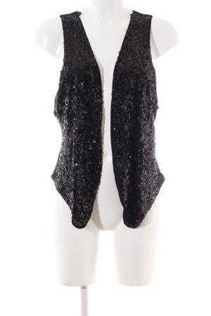 H&M Gilet tricoté noir élégant