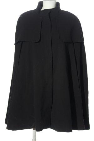 H&M Peleryna czarny W stylu casual