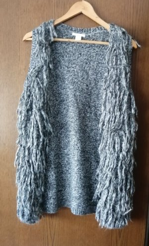 Hennes Collection by H&M Long Knitted Vest multicolored