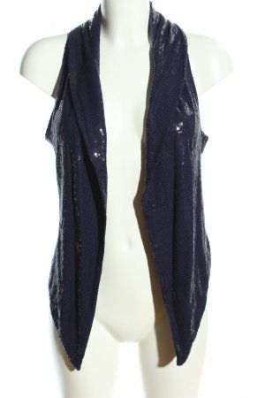 H&M Smanicato lavorato a maglia blu elegante