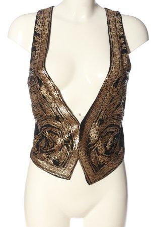 H&M Strickweste bronzefarben-braun Elegant