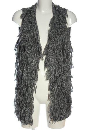 H&M Strickweste hellgrau Casual-Look