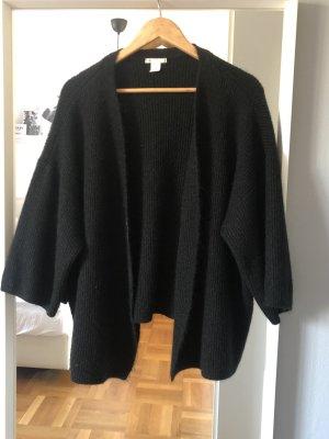 H&M Basic Gilet tricoté noir