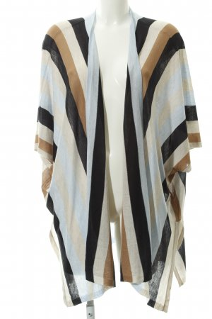 H&M Knitted Wrap Cardigan striped pattern casual look