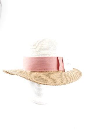 H&M Chapeau de paille multicolore style décontracté