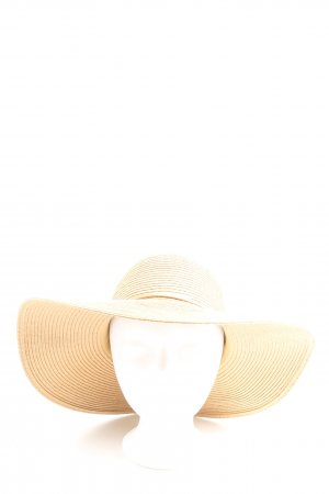 H&M Straw Hat cream casual look