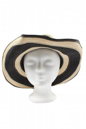 H&M Straw Hat black-natural white casual look