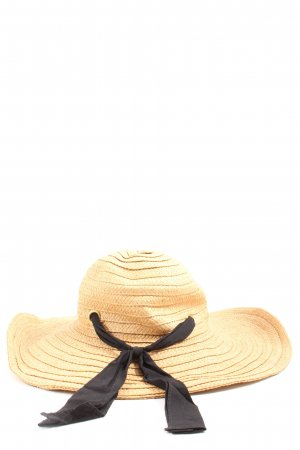 H&M Straw Hat natural white casual look