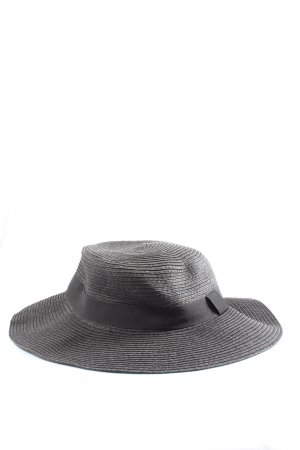 H&M Straw Hat black casual look