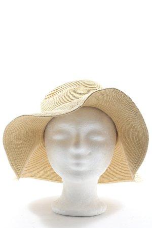 H&M Cappello di paglia bianco sporco stile casual
