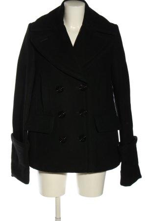 H&M Studio Marynarska kurtka czarny W stylu casual