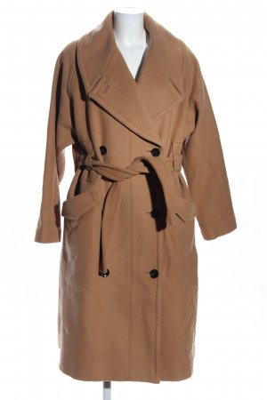 H&M Studio Oversized Mantel braun Casual-Look