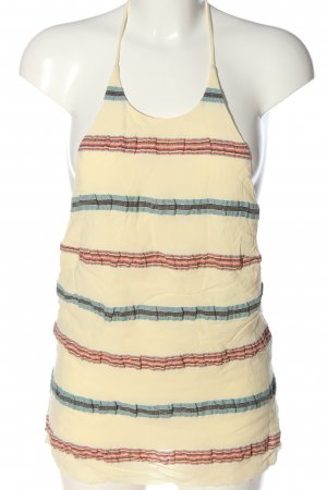 H&M Studio Backless Top striped pattern casual look