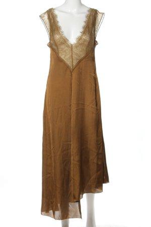 H&M Studio Spitzenkleid bronzefarben Elegant