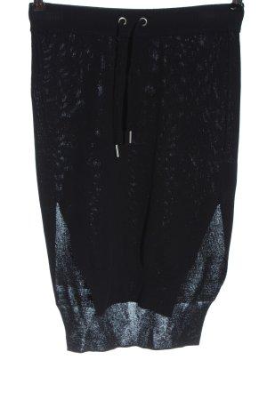 H&M Studio Spódnica z dzianiny czarny W stylu casual