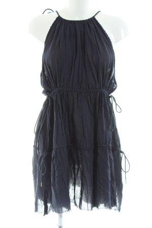 H&M Studio Trägerkleid blau Casual-Look