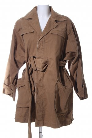 H&M Studio Trenchcoat braun Business-Look