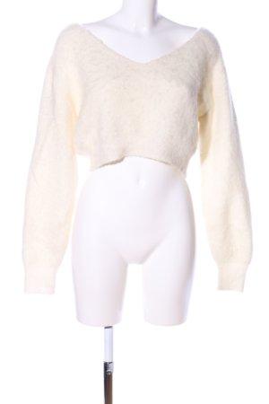 H&M Studio Maglione di lana crema stile casual