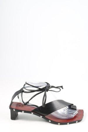H&M Studio Entre-doig à talon haut noir style extravagant